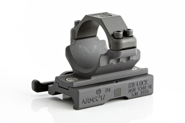 A.R.M.S. #22M68 Aimpoint Comp Throw Lever Ring Mount 22M68 Photo 1