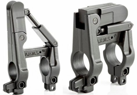 A.R.M.S., Inc. A.R.M.S. Silhouette Folding Front Sight with Integral Gas Block