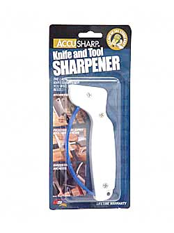 AccuSharp Accusharp Knife Sharpener White