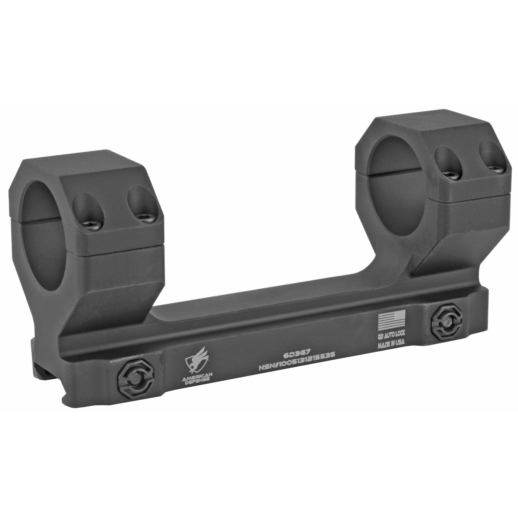 American Defense Mfg. American Defense Mfg. Ad-delta Scp Mount 30mm Black Ti