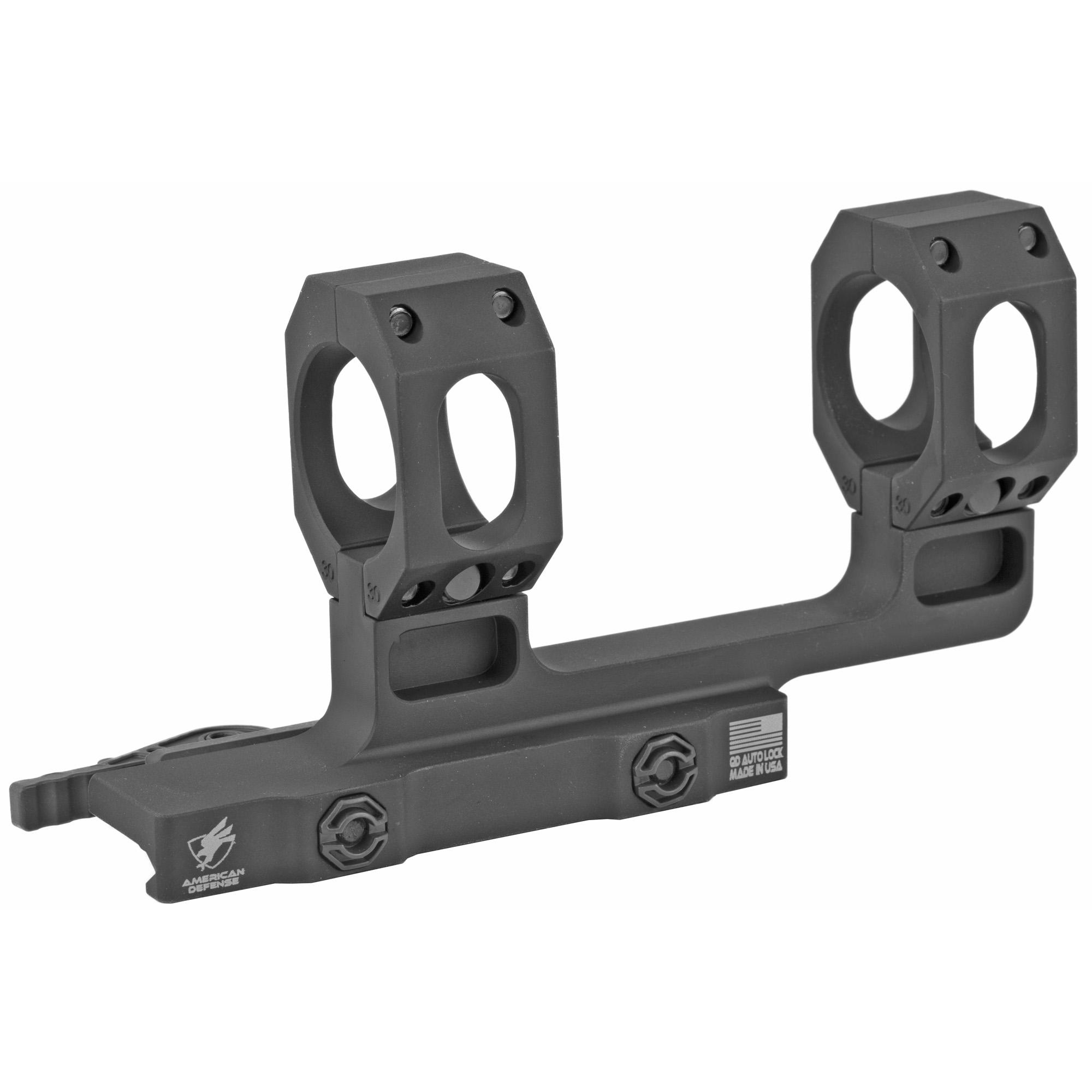 American Defense Mfg. American Defense Mfg. Recon-h Mount 30mm Dual Quick Release Ti