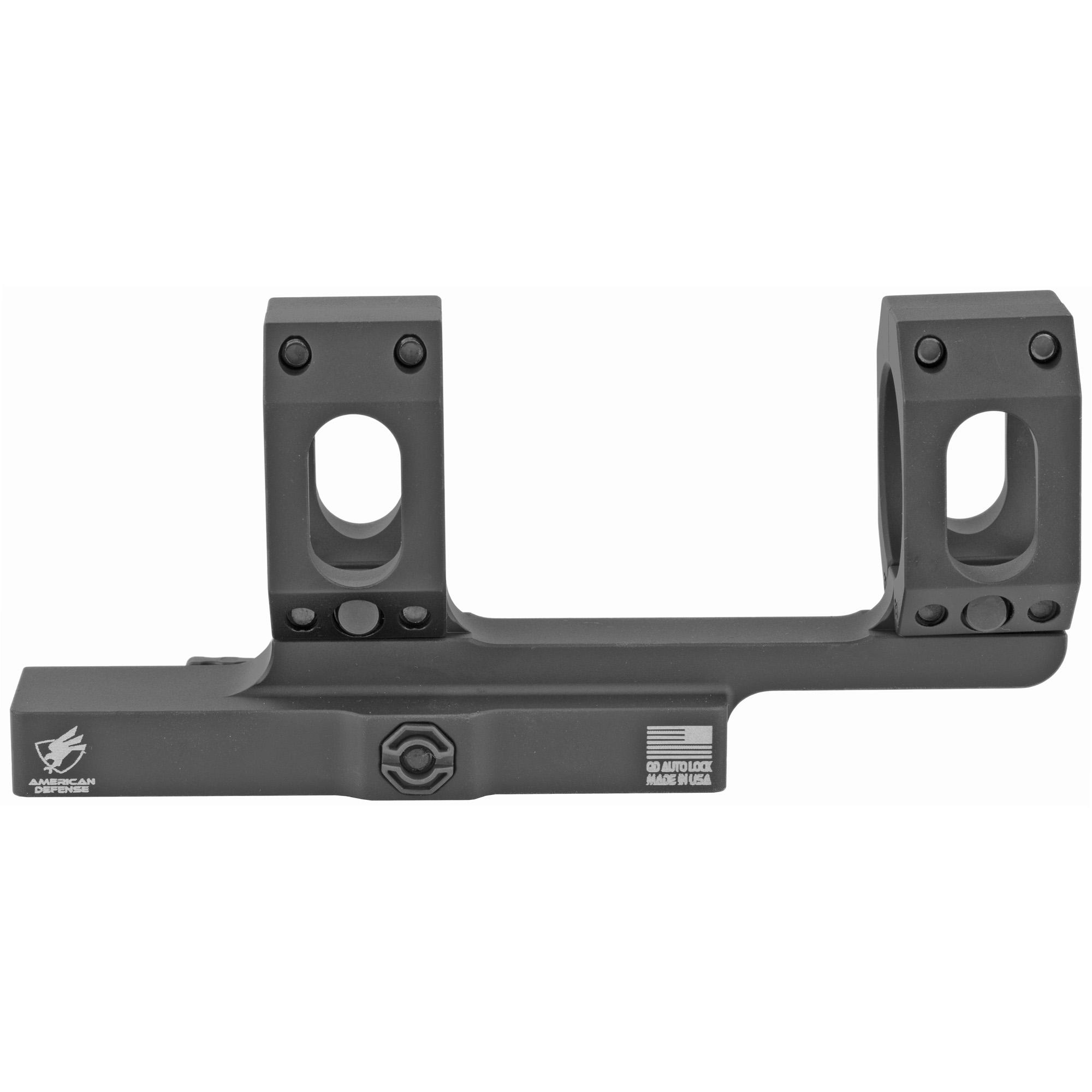 American Defense Mfg. American Defense Mfg. Strght Mount 30mm Single Quick Release Ti