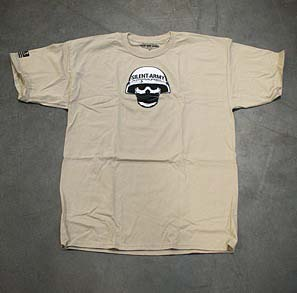Advanced Armament Corp Advanced Armament Corp Silent Army T-shirt - Tan Large