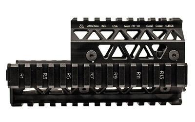 Arsenal, Inc. Arsenal Pr-01 Quad Rail Black