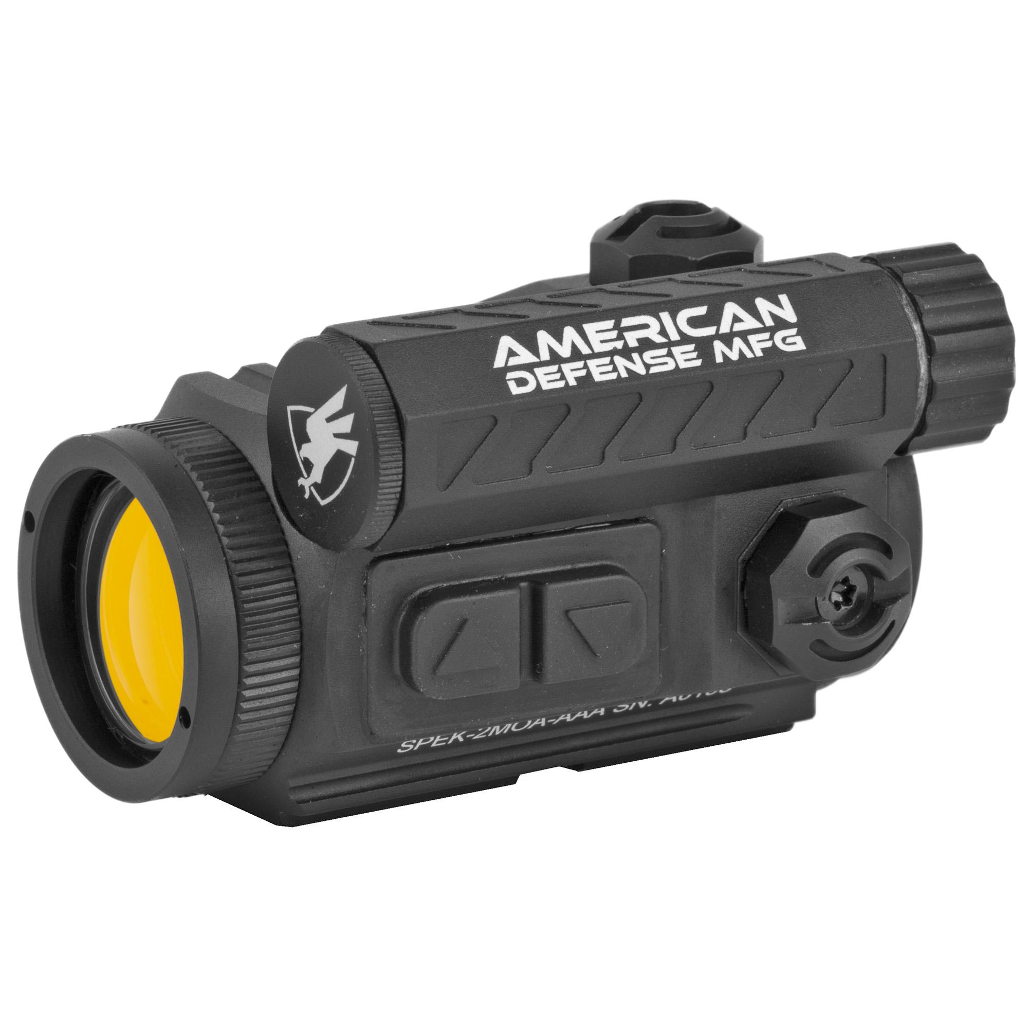American Defense Mfg. Spek Red Dot Co-witness 2moa RD-T1-CO Photo 1