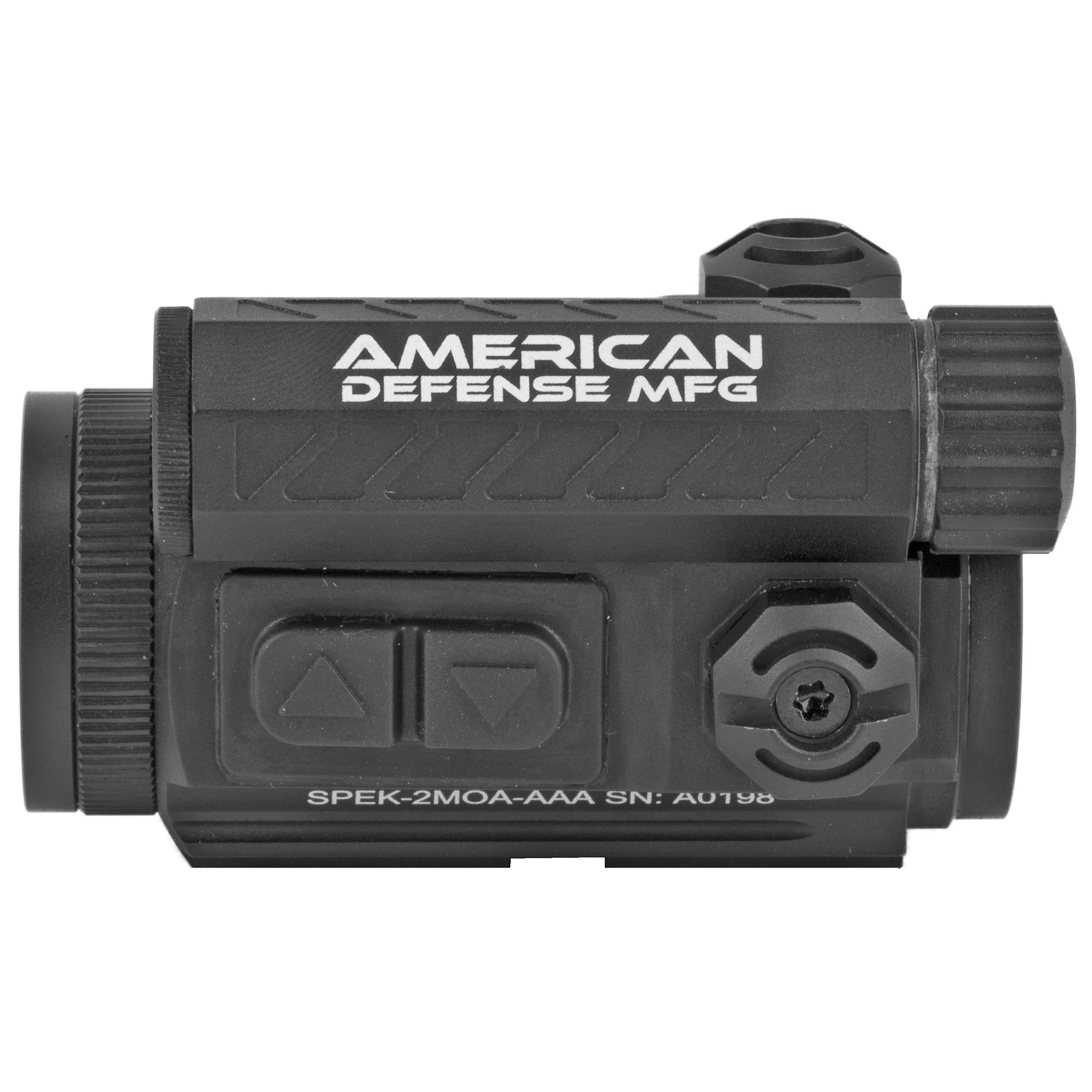 American Defense Mfg. Spek Red Dot Co-witness 2moa RD-T1-CO Photo 3