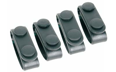 BlackHawk BlackHawk Molded Blt Keepers (4) Black