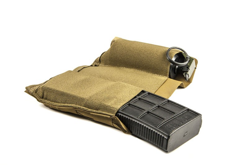 Blue Force Gear Blue Force Ten-Speed Triple M4 Mag Pouch Coyote Brown