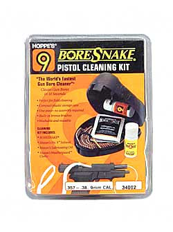 Bore Snake Pistol Field Kit 357-38/9