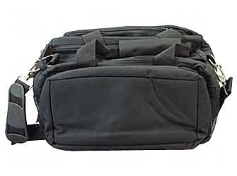 Bulldog Cases Bulldog Range Bag Delux with strap Black