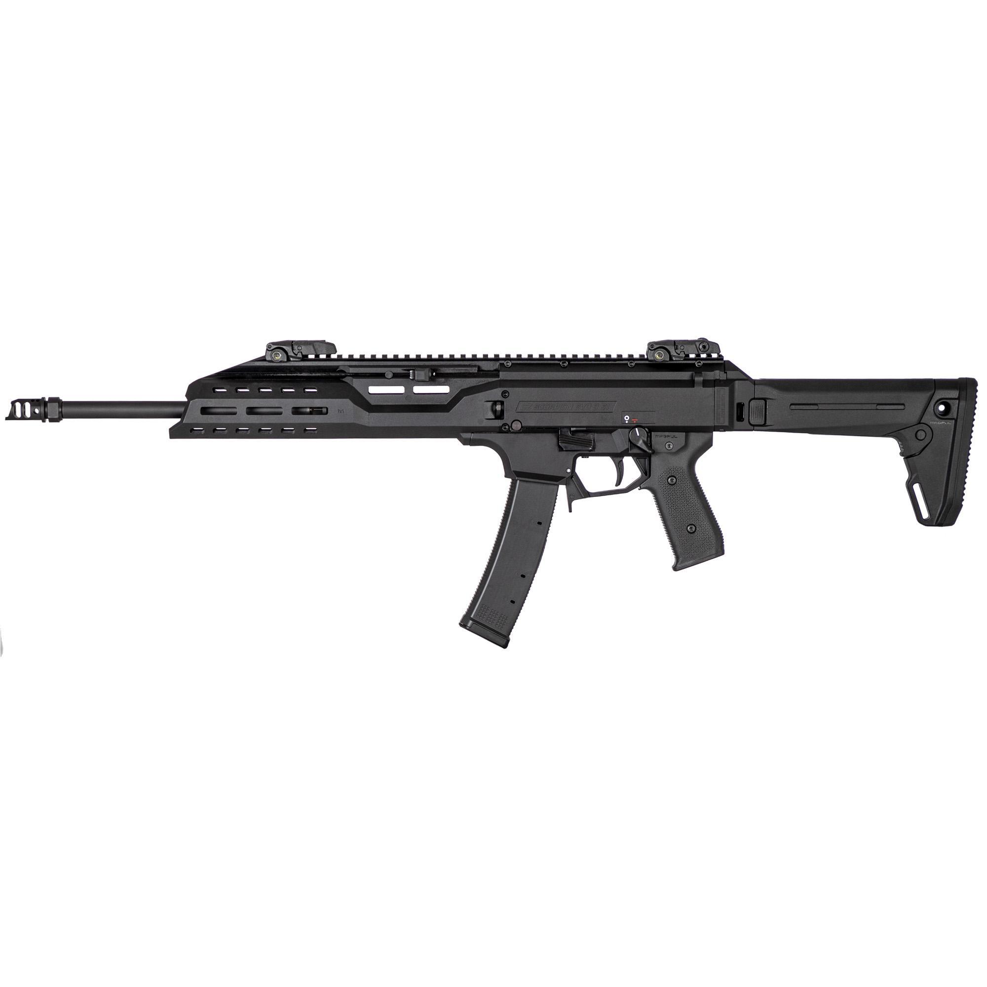 CZ Cz Scorpion Crb 9mm 16.2 35rd Black Mp