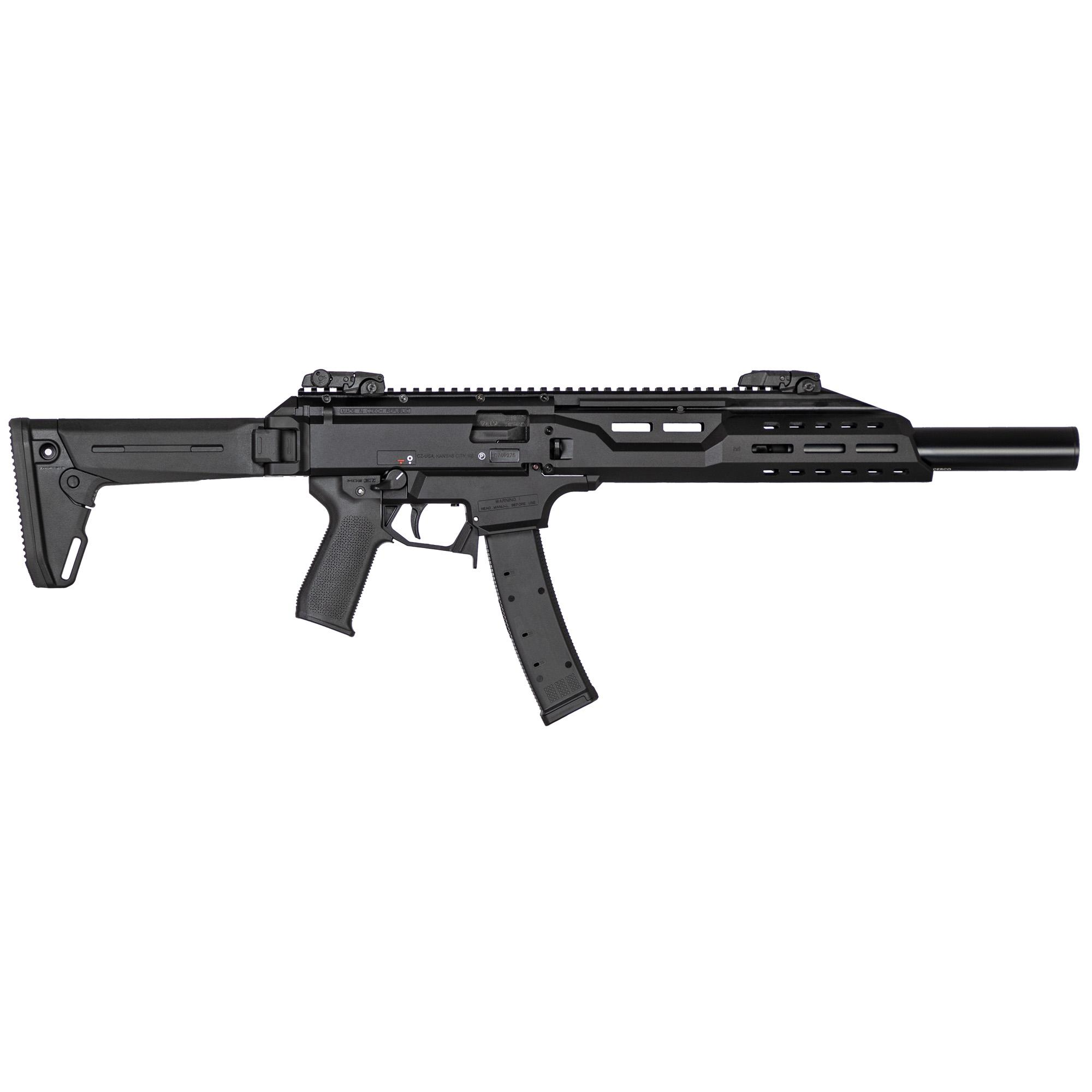 CZ Cz Scorpion Crb 9mm 16.2 35rd Black Fx