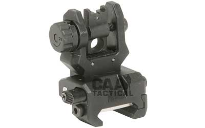 CAA CAA Low Profile Rear Flip Sight Black