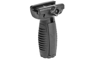 CAA Rubberized Short Vertical Grip - Black