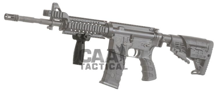 CAA CAA Rubberized Short Vertical Grip - Black