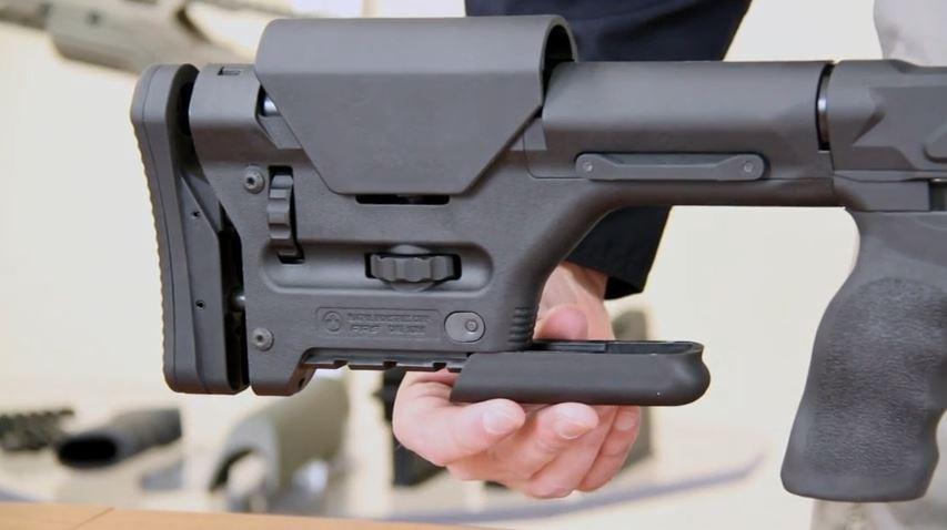 Cadex Strike Lite Strike Rifle Chassis   Black Label Tactical