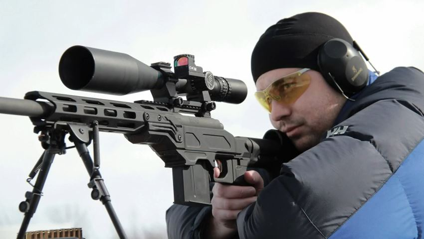 Cadex Field Strike Rifle Chassis | Black Label Tactical