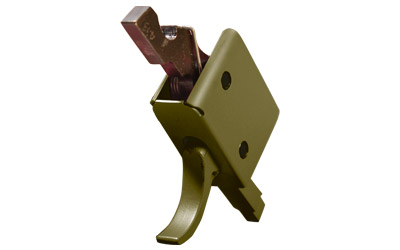 CMC AR-15 Match Trigger Curved Olive Drab