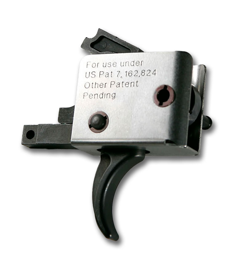 CMC Triggers CMC AR-15 Match Trigger Curved Small Pin