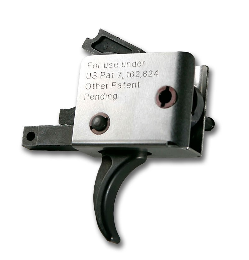CMC Triggers CMC AR-15 Match Trigger Curved Large Pin
