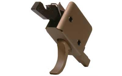 CMC Triggers Corp CMC AR-15 Match Trigger Curved Burnt Bronze