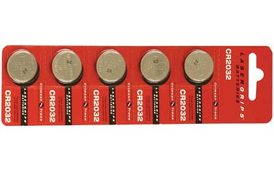 Crimson Trace Corporation Crimson Trace Cr2032 Battery- 5 Pk