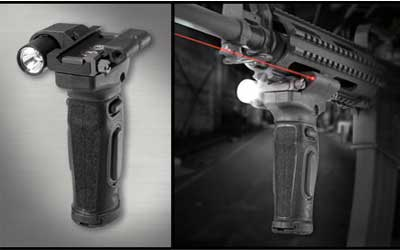 Crimson Trace Mod Vert Foregrip with lsr&lite Red