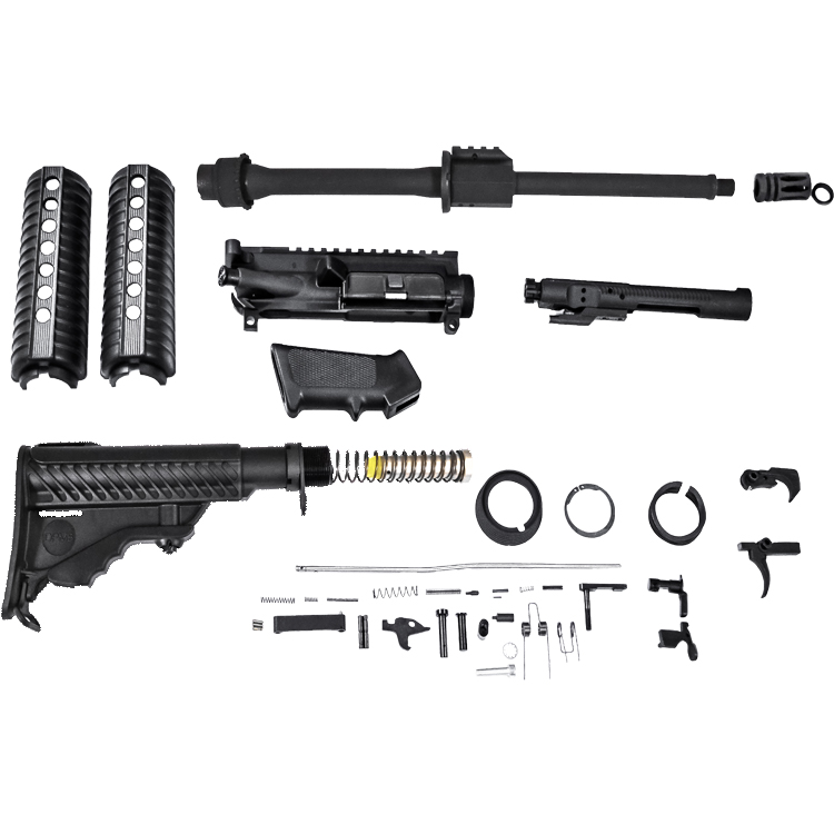 dpms oracle 5 56 complete rifle kit less lower kt