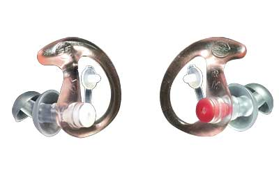 Earpro Sonic Drndr Sm Clear 1 Pair