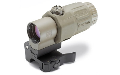 EOTech G33 Magnifier Stainless Mount Tan G33.STS TAN Photo 1