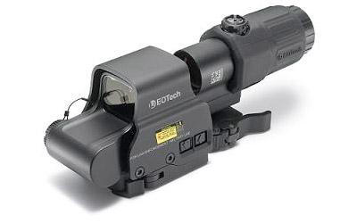 EOTech EOTech HHSI EXPS3-4 + EOTech Gen 3 Magnifier Stainless QD