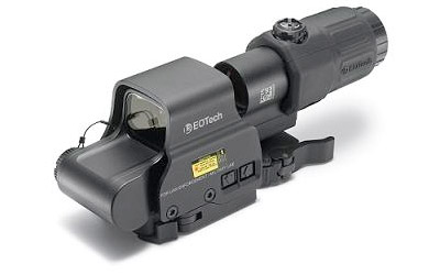 EOTech Hhsi Exps3-4/3x with Stainless QD Mount