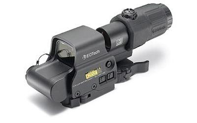 EOTech EOTech HHSII EXPS2-2 + EOTech Gen 3 Magnifier Stainless QD