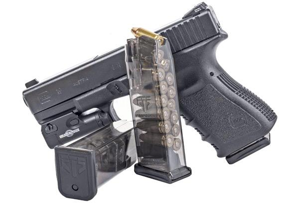 Elite Tactical Systems Group Ets Glock 19 9mm 15rd Smoke Mag