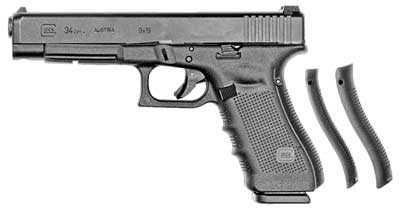 Glock 34 Gen4 9mm Prac/Tactical 17rd