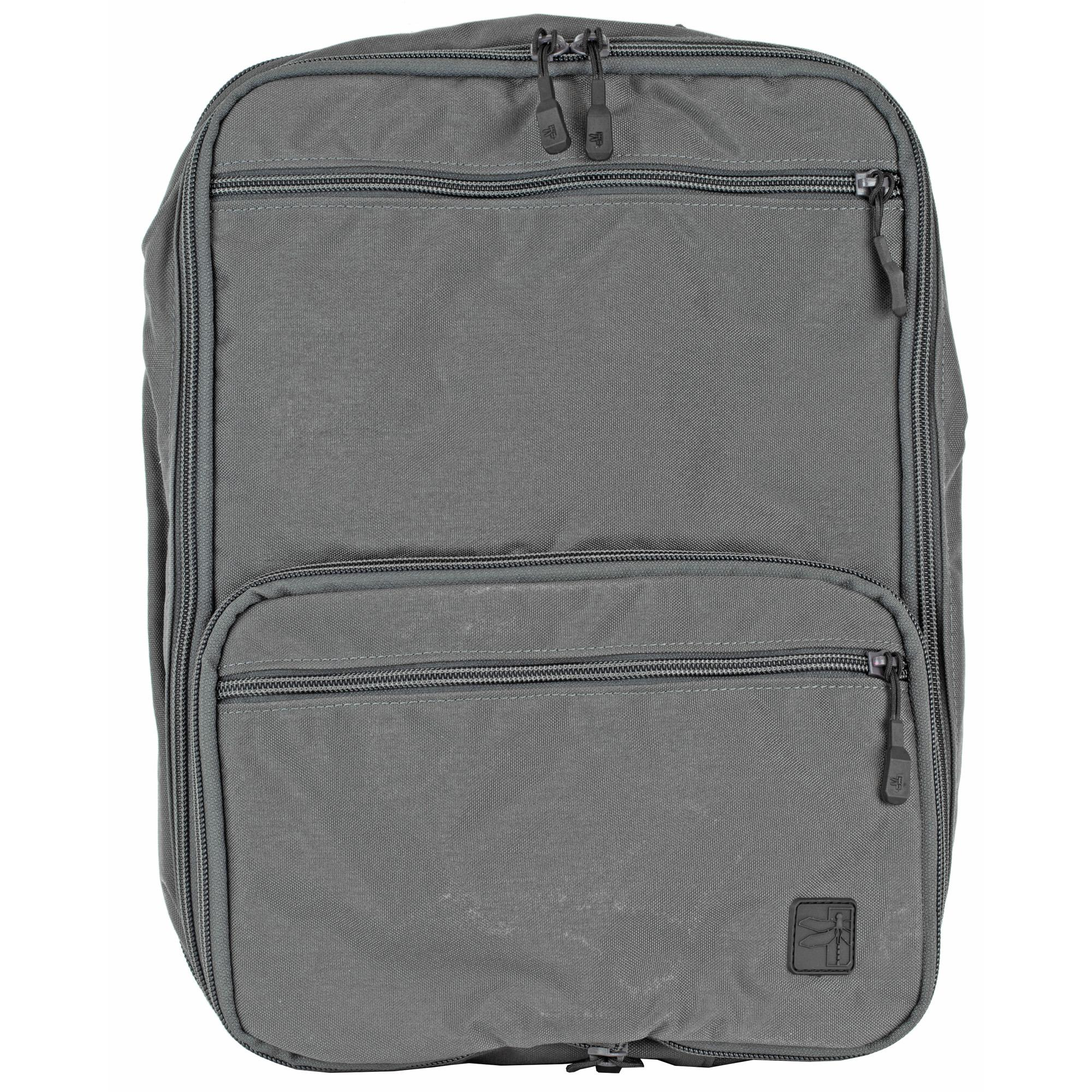 Haley Flatpack Plus With Chest Strp Gray
