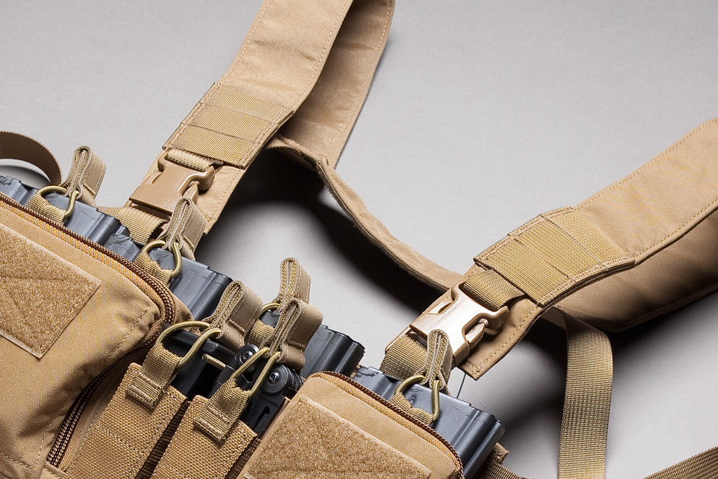 Haley Strategic Partners Haley Strategic Partners Heavy Chest Rig D3CR-H Coyote Brown