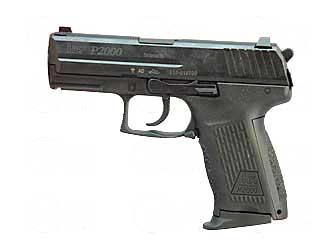 HK Heckler & Koch P2000 9mm 3.66