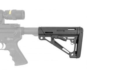 Hogue Grips Hogue AR15 Stock Mil-Spec Black