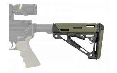 Hogue AR15 Stock Mil-Spec Rbr Olive Drab