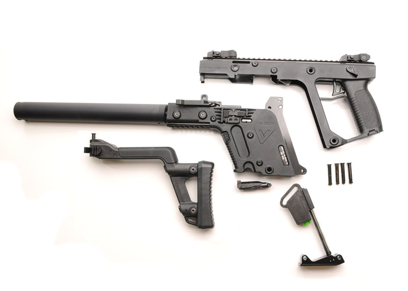 Kriss Vector Crb 45 Acp Folding Stock Black Label Tactical