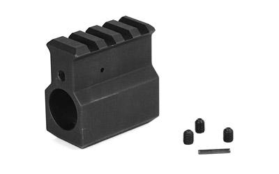 LBE Unlimited Lbe .750 Gas Block With Rail Black