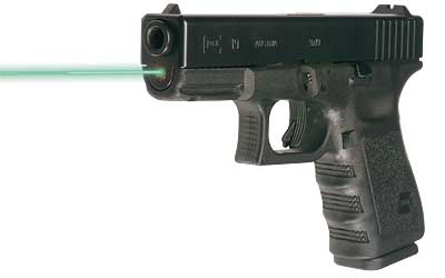 Lasermax for Glock 19 23 32 Gen 1-3 Hi-Brite Green Guide Rod Laser