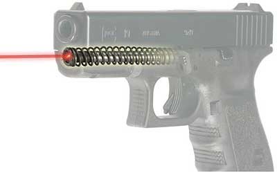 Lasermax for Glock 19 Gen 4 Hi-Brite Red Guide Rod Laser