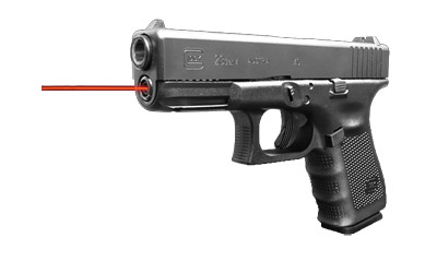 Lasermax LMS-23-G4 For Glock 23 Gen 4 Hi-Brite Red
