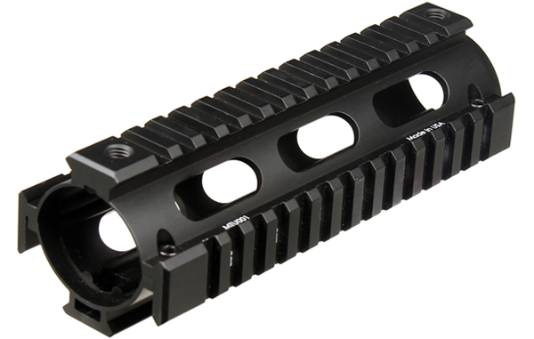 Leapers, Inc. - UTG UTG PRO Model 4/AR15 Car Length Drop-in Quad Rail, Black