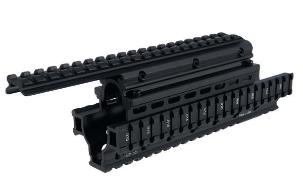 UTG PRO Made in USA Saiga-12 Shotgun Tactical Quad Rail