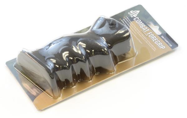 Leapers, Inc. - UTG UTG Ambidextrous Combat Foregrip, Symmetric Contour-Black