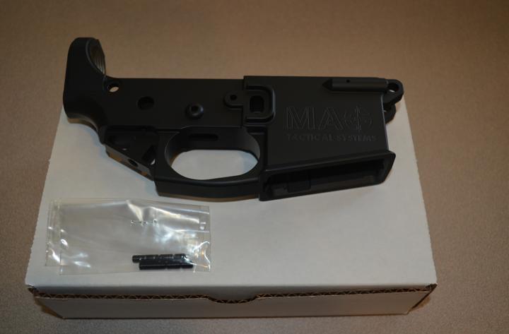 Mag Tactical AR15 Lightweight Lower Black