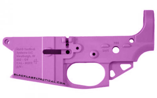 Mag Tactical Mag Tactical AR15 Lightweight Lower Pink